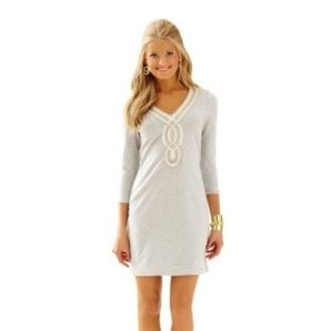 Lilly Pulitzer Clarkson Dress with embroidery